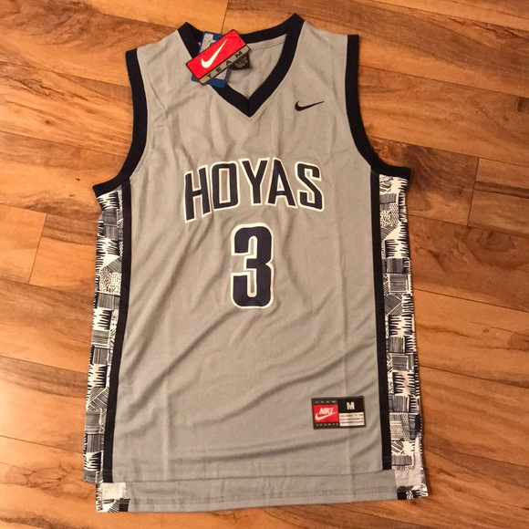 sports shoes 4c909 10a9c NWT Allen Iverson Retro Georgetown Hoyas Jersey NWT